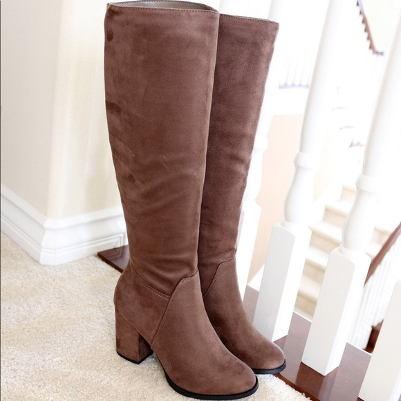 38db76516fb divine-taupe-suede knee high boots